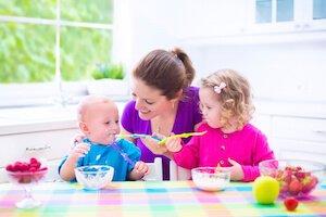 entretien d'embauche avec l'assistante maternelle