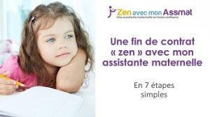 Le Preavis De L Assistante Maternelle De 15 Jours A Un Mois